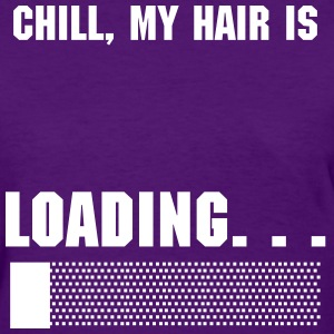 What the Frizz: Loading... - Women's T-Shirt