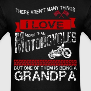 This Grandpa Loves Motorcycles T-Shirts - Men's T-Shirt