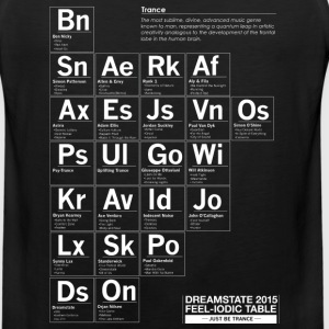 Dreamstate Periodic Table - Tank Top - Men's Premium Tank