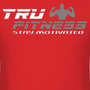 Tru Fitness T Shirt (Red) - Men's T-Shirt