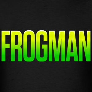 Frogman Superhero - Men's T-Shirt