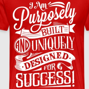 Men's Purpose Tee - Red - Men's Premium T-Shirt