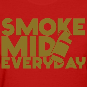 Smoke Mid Everyday CS:GO Limited Edition Gold W - Women's T-Shirt