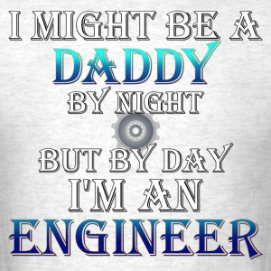 Daddy Engineer Mens T-Shirt - Men's T-Shirt