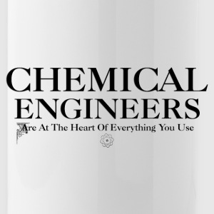 Chemical Engineers Are At The Heart Water Bottle - Water Bottle