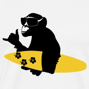 surf monkey T-Shirts - Men's Premium T-Shirt