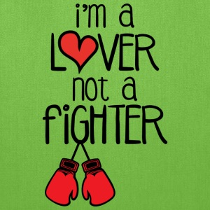 lover not a fighter bag  - Tote Bag