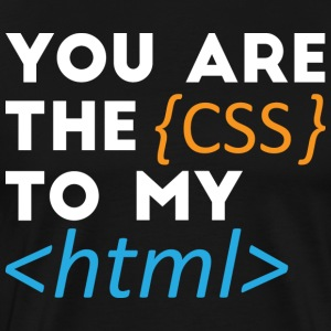 The Css to my Html - Men's Premium T-Shirt