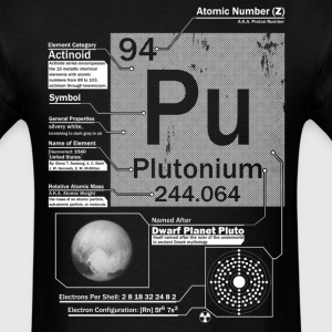 Plutonium t shirt - Men's T-Shirt