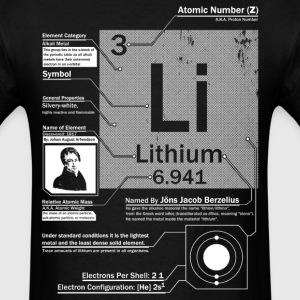 Lithium t shirt - Men's T-Shirt