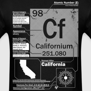 Californium t shirt - Men's T-Shirt