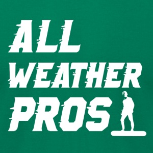 All Weather Pros Premium Tee - Men's T-Shirt by American Apparel