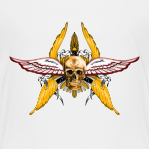 skull wings Baby & Toddler Shirts - Toddler Premium T-Shirt