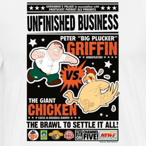 Family Guy Unfinished Business - Men's Premium T-Shirt