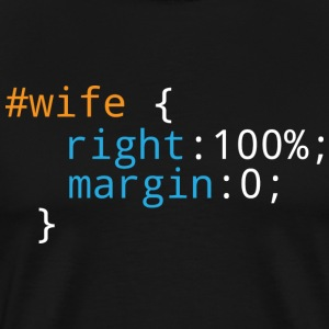 Css Puns - Wife - Men's Premium T-Shirt