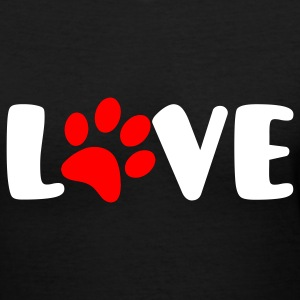 Animal Love - Women's V-Neck T-Shirt