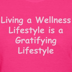 Women's In Motion Collection Living a Wellness Lif - Women's T-Shirt