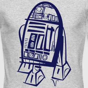 R2D2 [Artist Rendering 3] Men's Long Sleeve T-shir - Men's Long Sleeve T-Shirt by Next Level