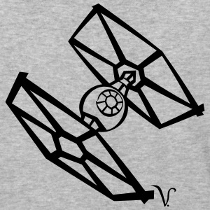 TIE Fighter [Artist Rendering 1] Men's Baseball T- - Baseball T-Shirt