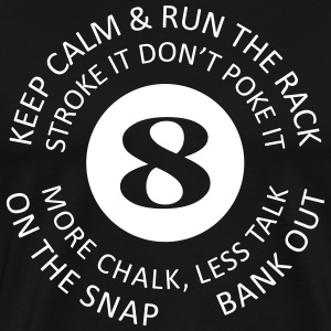 8-Ball Phrases - Men's Premium T-Shirt