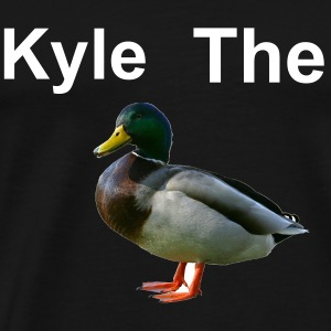 Kyle The Duck Black T-Shirt - Men's Premium T-Shirt