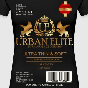 URBAN ELITE CONDOMS GRAPHIC TEE - Women's Premium T-Shirt