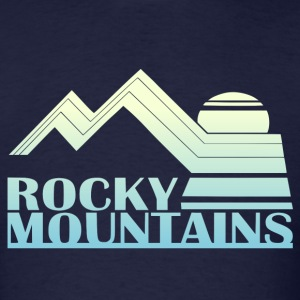 Rocky Mountains Vintage Tee - Men's T-Shirt