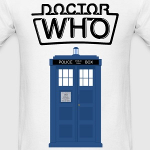 Doctor Who - TARDIS - Men's T-Shirt