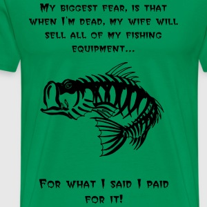 Fishing Shirt - Men's Premium T-Shirt