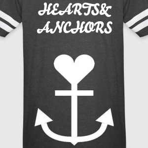 Hearts&Anchors- Jersey - Vintage Sport T-Shirt