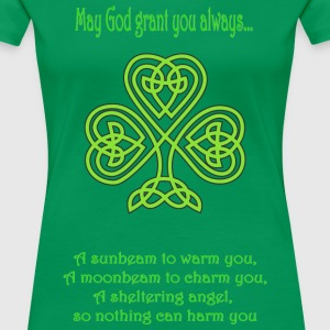 Irish Blessing - Women's Premium T-Shirt