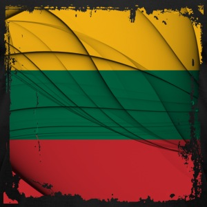 Lithuania Flag T-shirt - Men's T-Shirt by American Apparel