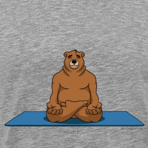 Oh So Yoga - Lotus pose - Men's Premium T-Shirt