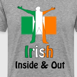 Irish Inside and Out - Men's Premium T-Shirt