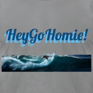 Catching the wave - Men's T-Shirt by American Apparel
