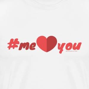 Hashtag Me Heart You - Men's Premium T-Shirt