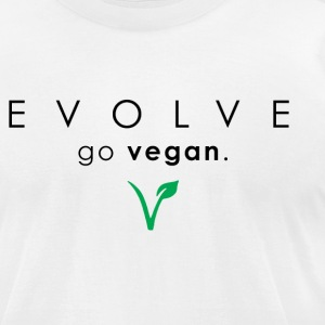 Evolve Go Vegan T-Shirt - Men's T-Shirt by American Apparel