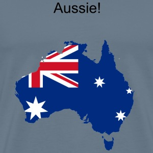 Aussie! - Men's Premium T-Shirt