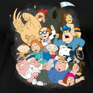 Family Guy Characters - Women's Premium T-Shirt
