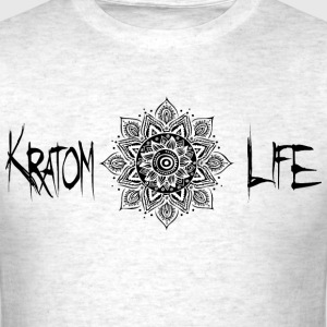 Kratom Life Flower of Life - Men's T-Shirt