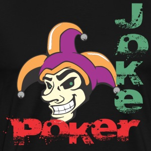 Joker Poker - Men's Premium T-Shirt