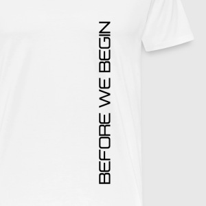 BWB Black Logo Shirt - Men's Premium T-Shirt
