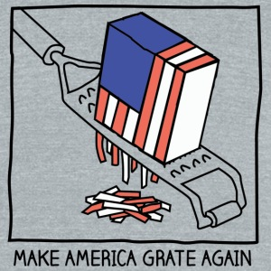 Make America Grate Again - Unisex Tri-Blend T-Shirt by American Apparel