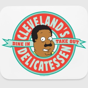 Family Guy Cleveland's Delicatessen - Mouse pad Horizontal