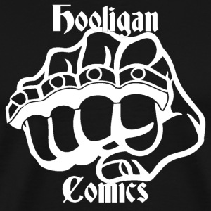 Hooligan Comics Logo T - Men's Premium T-Shirt