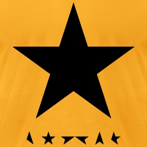 david bowie blackstar tshirt - Men's T-Shirt by American Apparel