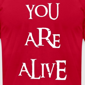Alive - Men's T-Shirt by American Apparel