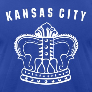 Kansas City Royals Vintage t-shirt - Men's T-Shirt by American Apparel
