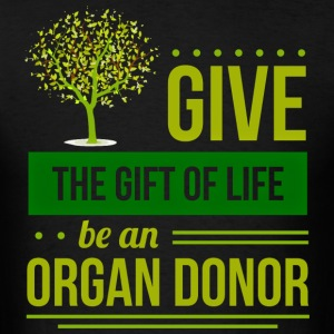 Organ donation Men's T-Shirt - Men's T-Shirt