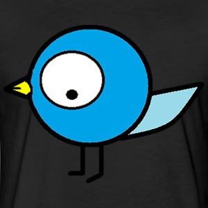 Burd Girl shirt - Fitted Cotton/Poly T-Shirt by Next Level
